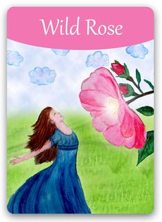 "Bach Flower Cards [Wild Rose] -  The negative Wild Rose state is one of hopelessness, accepted as inevitable. These people know that nothing is going to get any better, feels no joy in life, and makes no effort to bring about positive changes. Treatment leads gradually to a new interest in life and the joyful expectation of better things to come. Person gains a new flexibility and inner freedom and is able to let the riches of life flow through him. In essence, he ""comes back to life."""