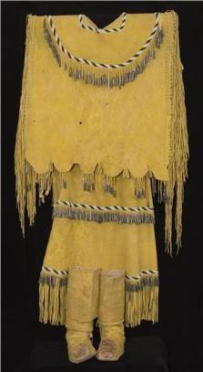 Native American clothing- Apache dresss 1890