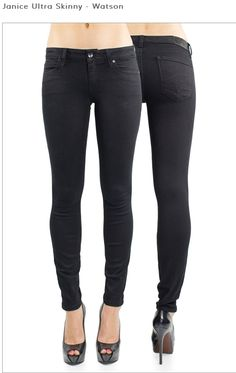 Best seller for a more dressy black denim. High waisted, fits beautifully!