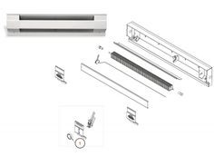 Electric Baseboard Parts and Accessories
