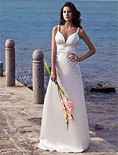 VISTELLA - Vestido de Novia de Satén elástico tejido – USD $ 129.99