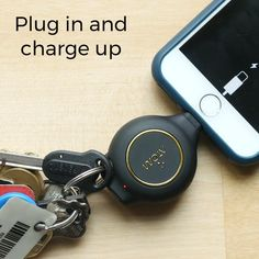 car accessories This emergency phone charger keychain is compact, retractable, and rechargeable. It provides two hours of phone charging and lasts three months per charge. Perfect for anyone always on the go and their phone. Car Gadgets, Gadgets And Gizmos, Travel Gadgets, Electronics Gadgets, Best Tech Gadgets, Travel Hacks, Travel Essentials, New Technology Gadgets, Future Gadgets