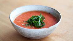 Bakt tomat- og fennikelsuppe