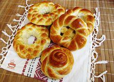 Reteta de colaci impletiti Challah, Bagel, Doughnut, Bread, Desserts, Tailgate Desserts, Deserts, Brot, Postres