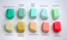 Super trendy color palette. But I love the jewel tones