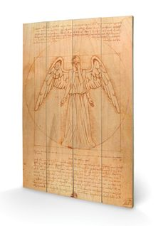 Doctor Who - Weeping Angel Wood Sign - AllPosters.co.uk
