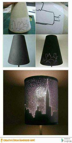 Lampen verzieren