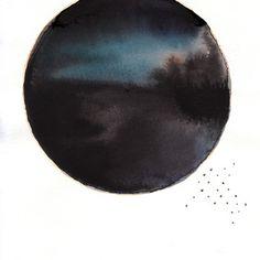 watercolor bu Mai Autumn