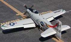 A-1 Skyraider 6 CH Radio Control Plane - ARF - http://www.nitrotek.co.uk/241.html