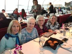 Dinner cruise on the Bateaux