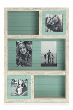 Ideal wedding memories box - Distressed Wood Shelf Frame Next