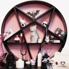 "beserkclothing: "" Decipher Designs - Pink Pentagram Shelf Shop now on + Beserk + """