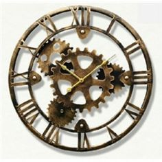 Cogwheel Wall Clock