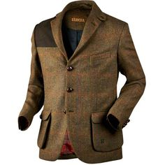 The hunting jacket and camouflage jacket for your next hunt. Our hunting jackets has been tested in the field by experienced hunters. Hunting Suit, Hunting Jackets, Tweed Shooting Jacket, Tweed Jacket, British Style Men, Country Wear, Country Style, Sharp Dressed Man, Sports Jacket