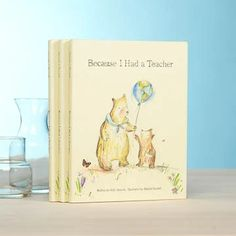 Because I Had A Teacher, An Inspirational Gift Book is the perfect way to say thank you to your favorite educator for Teacher Appreciation or End of School.