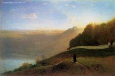 George Inness - Lake Nemi 1872