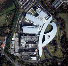 Astellas Pharma Inc. Tsukuba Research Center New Buildings Researchers' Office & Common Building Research Centre, City Photo, Buildings, Urban, Architecture, World, Business, Arquitetura, Store