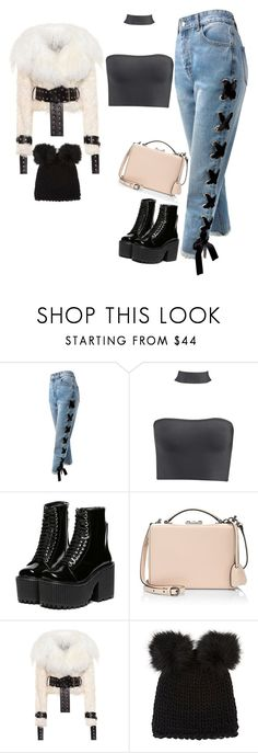 """""""Untitled #498"""" by corazondeazucar ❤ liked on Polyvore featuring Sans Souci, Mark Cross, Monse and Barneys New York"""