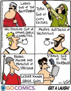 Lesser Known Greek Gods « rogueclassicism