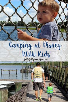 Why you should absolutely go camping at Disney Fort Wilderness with your kids!!