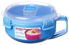 Amazon.com   Sistema To Go Collection Microwave Breakfast Bowl, 28.7 Ounce/ 3.6…