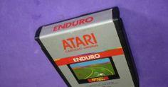 """""""Enduro"""" - Atari 2600 - R$ 70. No Museu do Videogame"""