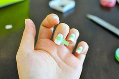 Washi Tape Nails