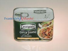 Frankreich Marché Shop-Cassegrain,Curry Gemüse