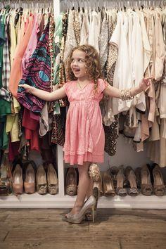 Mini Magazine Summer. Portia, 5. Daughter of Kyle Richards.
