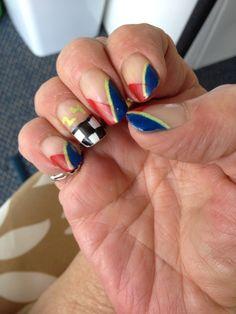 Jeff Gordon nail art Celebrity Nails, Jeff Gordon, Nail Art Designs, My Style, Beauty, Nail Designs, Beauty Illustration