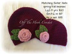 Off The Hook Crochet-etsy Crochet Hooks, Beanie, Hats, Crochet, Hat, Beanies