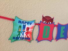 Cumpleaños de PjMasks PjMasks todo-en-uno por CuddleBuggParties