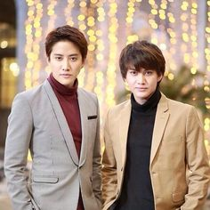 [Thailand] Mike D'Angelo [real name - Pirath Nitipaisankul] (left) and his older brother Golf Pichaya [real name - Pichaya Nitipaisalkul]