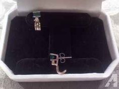 Emerald & Diamond Earrings - $375 (Clermont, NJ)