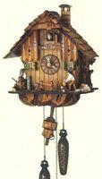 Q 1105/10  Quartz German Black Forest Cuckoo Clock  by Schneider