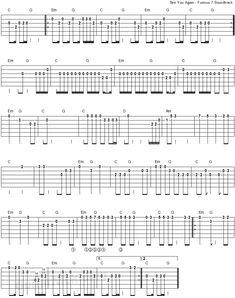 See You Again - Furious 7 - easy guitar tablature 2 Free Guitar Lessons, Guitar Lessons For Beginners, Easy Guitar Tabs, Backing Tracks, See You Again, Acoustic Guitar, Sheet Music, Life, 3d Printer