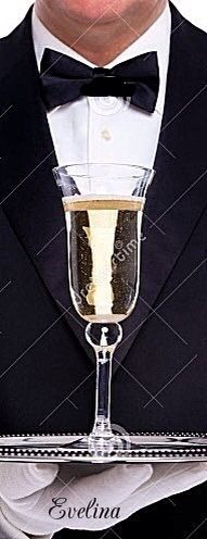 Glimmering glasses of golden goodness given to the Glamorous & GQ.  ~RHA~
