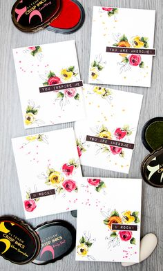 """Altenew """"Painted Flowers"""" 