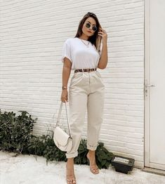 Casual Chic Outfits, Basic Outfits, Curvy Outfits, Mode Outfits, Look Fashion, Girl Fashion, Fashion Outfits, Business Outfits Women, Everyday Outfits