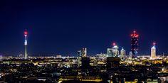 Vienna Skyline at Night | von denistodorut