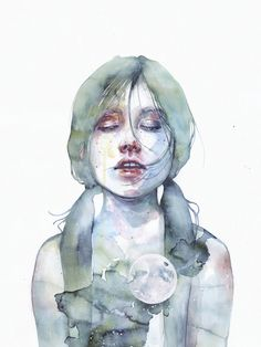 The Smallest Thing of the Universe by Agnes Cecile | Eyes On Walls