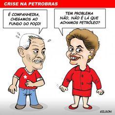 Crise na Petrobras chega ao fundo do poço!
