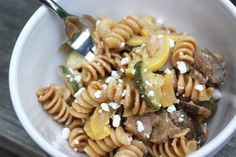 Vegetable Pasta with Goat Cheese   Sweet Spree