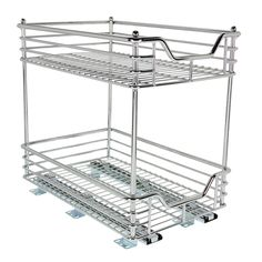 """Two Tier Sliding Organizer, 11.5"""" - Household C21217-1 - Space Savers - Camping World"""