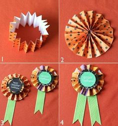 Halloween Costume Contest DIY Prize Ribbons