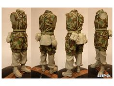 Historicus Forma :: Painting Splinter Pattern by Andy Evans