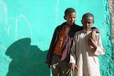Harar, Ethiopia friends