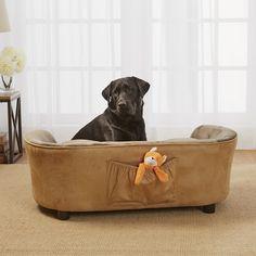 panache dog bed mink brownPurchase