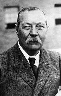 Sir Arthur Conan Doyle One of my favorite authors of all time.