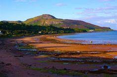 Sandbraes Beach Whiting Bay, Isle of Arran, Scotland